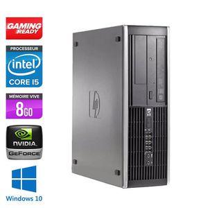UNITÉ CENTRALE  Pc de bureau HP 8200 -Core i5 - 8Go -NVIDIA GT 730