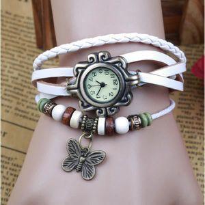 MONTRE 183-7 rétro montre de mode en cuir bracelet à remo