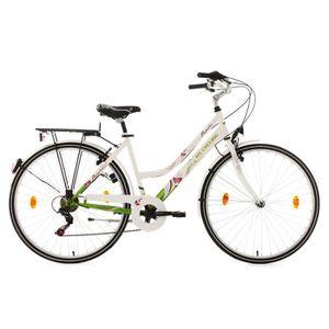 VÉLO DE VILLE - PLAGE Vélo de ville femme 28'' Papilio