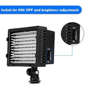 LAMPE ESCLAVE - FLASH Torche Vidéo LED Photo Studio - 9.6W 160 LED Régla