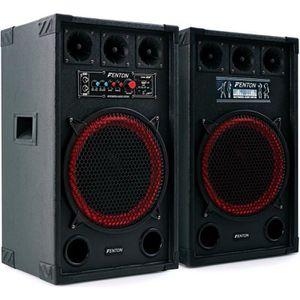 ENCEINTE ET RETOUR Skytec SPB-12 Pack Enceintes Amplifiées • 800W max