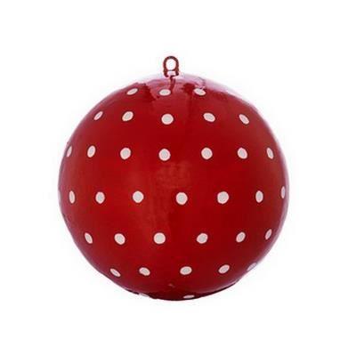 boule de noel blanche et rouge - achat / vente boule de noel