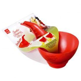 ENTONNOIR Entonnoir spécial confiture - D: 14 cm - rouge