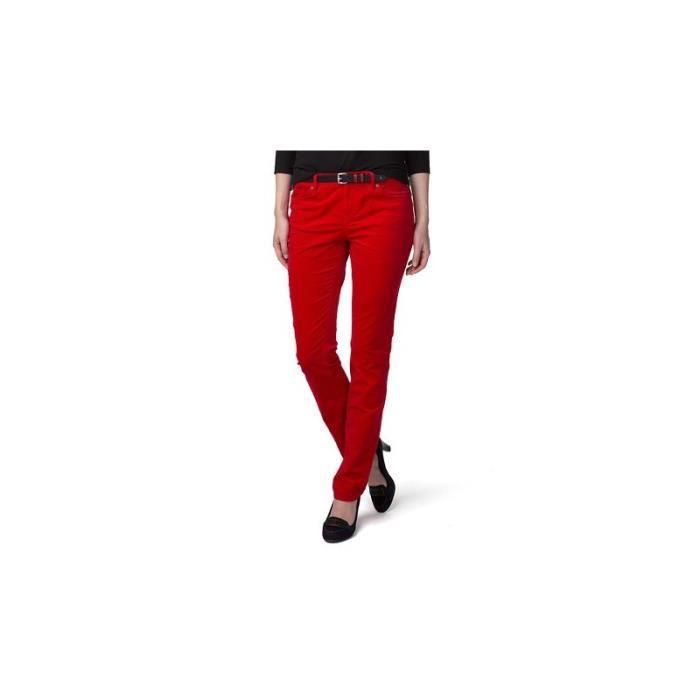 0918c300df1b Jean Tommy Hilfiger rouge Rome pour femme Rouge - Achat   Vente ...