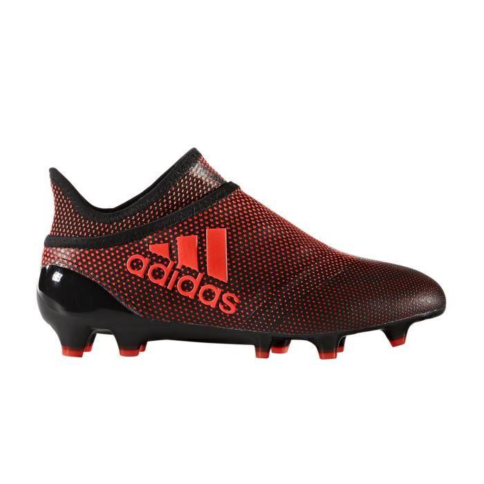 CHAUSSURES DE FOOTBALL Chaussures football adidas X 17 Purespeed FG Noir