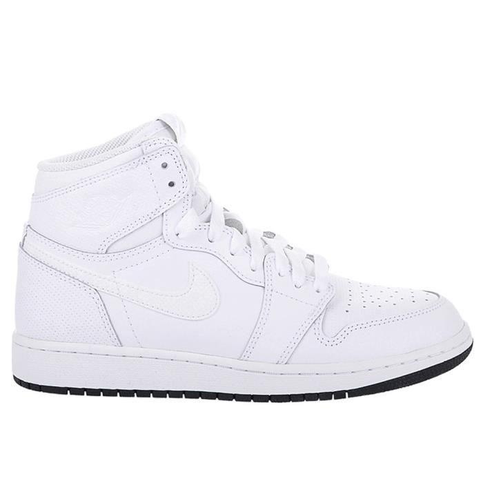Bg Air Retro Achat Blanc Nike Chaussures Jordan 1 High Og 92DIYWHE