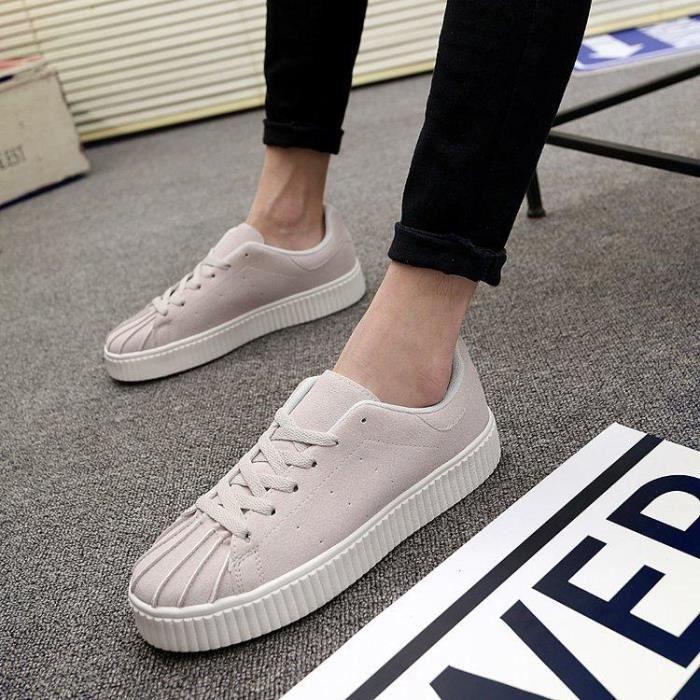 4b9b28e029351 Chaussures De Tennis Homme Mode Pour Absorbeur De Choc Confort En Toute  LéGèReté AthléTique Haute Qualité Plus Taille Amorti
