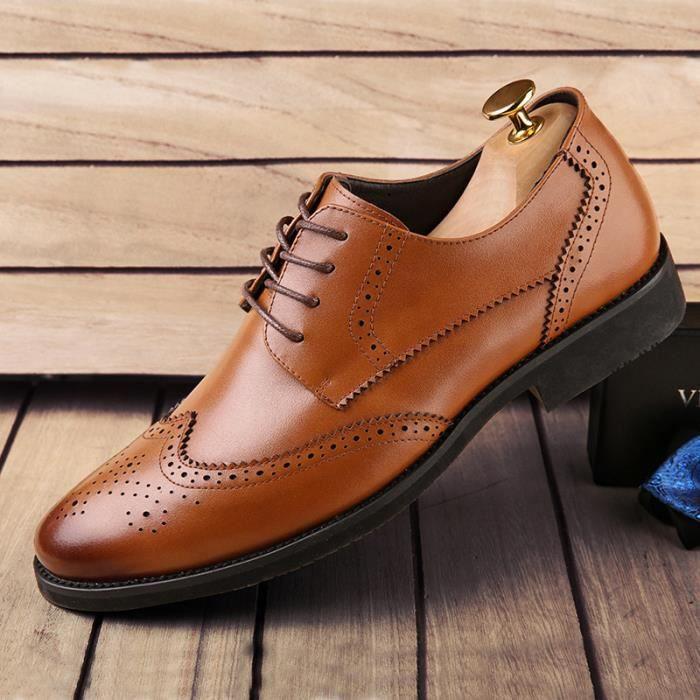 Chaussures En Cuir Homme Soulier Habillées Chaussures De chaussures