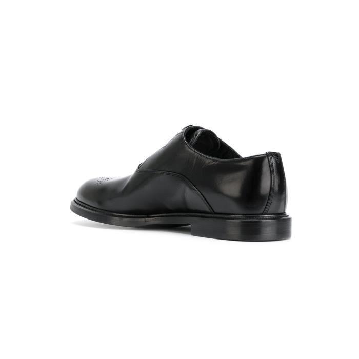 chaussures multisport Mixte Lovers mocassins sport loisir étudiants en cuir d'été noir taille42 gADYObplt