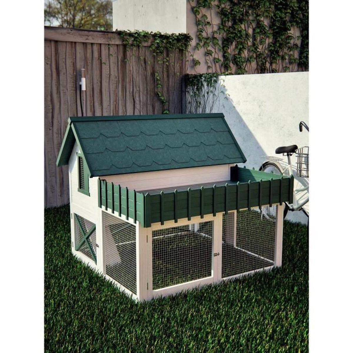 poulailler pour 4 poules pas cher beautiful poulailler ou poules bois dakota with poulailler. Black Bedroom Furniture Sets. Home Design Ideas