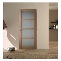 bloc porte en hetre 4 vitrages largeur 63 cm poussant droit achat vente porte d 39 int rieur. Black Bedroom Furniture Sets. Home Design Ideas