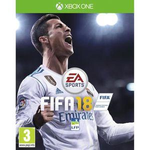 JEUX XBOX ONE FIFA 18 Jeu Xbox One