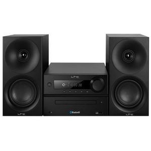 LTC AUDIO CDM100-BL Micro syst?me avec tuner AM/FM - Lecteur Cd et Bluetooth - 2 X 20w