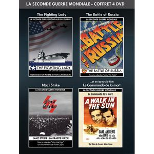 DVD FILM DVD Coffret guerre : the fighting lady ; the ba...