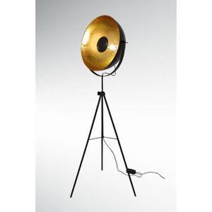 lampadaire projecteur achat vente lampadaire projecteur pas cher cdiscount. Black Bedroom Furniture Sets. Home Design Ideas