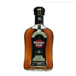 RHUM Rhum de Cuba Havana Club 15 ans