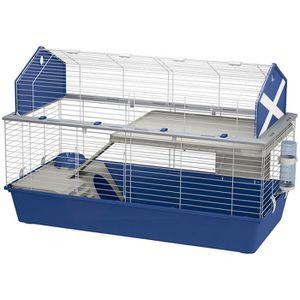 COUVRE-CAGE - PERCHOIR Ferplast Spacieuse cage pour lapins BARN 120 pour
