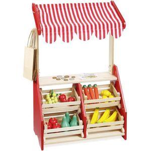 MARCHANDE howa - Marchande pour enfant / stand de marché en