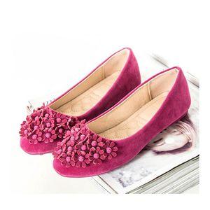 BALLERINE Chaussures Femme Ballerines Plates En Velours  Sem