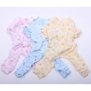 PYJAMA Version Bleu - Chien Chat Doux Pyjamas Ours Design
