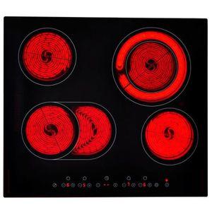 PLAQUE VITROCÉRAMIQUE  Plaque vitrocéramique Table de cuisson vitrocérami