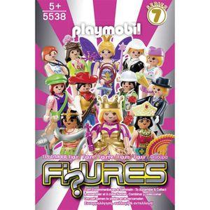 UNIVERS MINIATURE PLAYMOBIL 5538 Figurine Fille Série 7