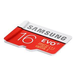 CARTE MÉMOIRE Carte mémoire micro SD Evo Plus Samsung 16Go