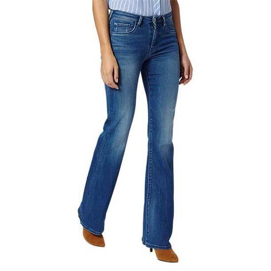 9834488d62b5a Vêtements femme Jeans Pepe Jeans Mayflare L32 Bleu Bleu - Achat ...