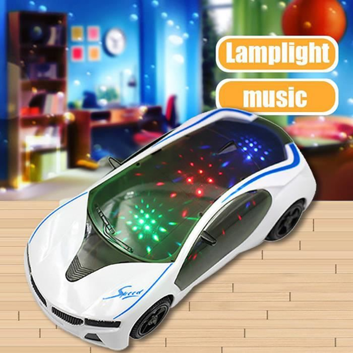 Électrique D'enfants Lumières Musique Supercar Roue Filles Garçons Avec Des Jouet 3d ju520 Style Et Cadeau De GUMLqVSpz
