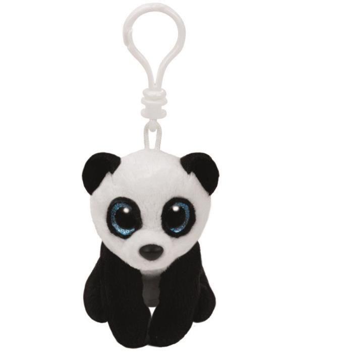 ty porte cl ming le panda 8 5 cm achat vente peluche cdiscount. Black Bedroom Furniture Sets. Home Design Ideas