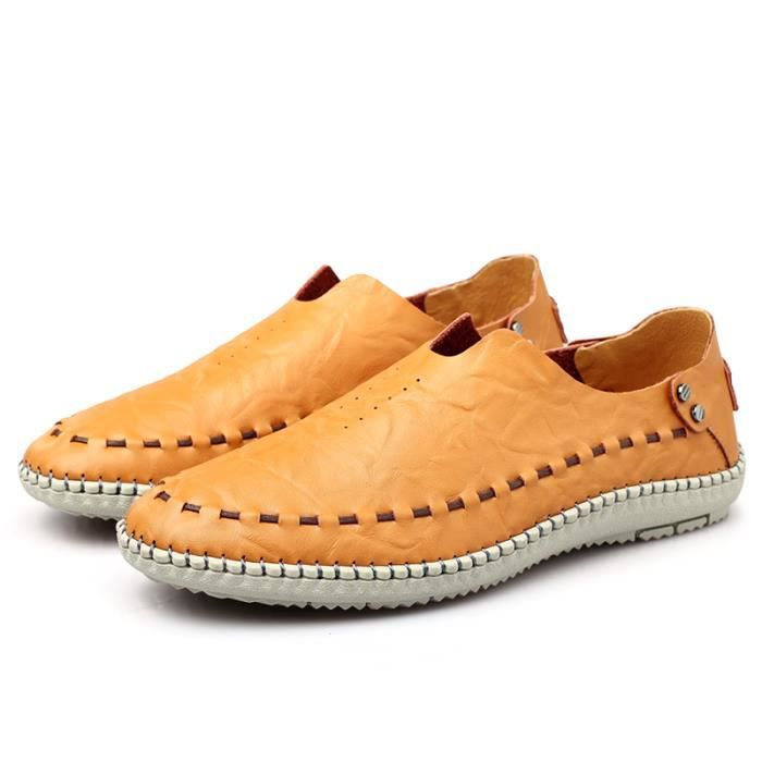 Mocassins Homme cuir Chaussure Casual Driving Chaussure zKNwq1