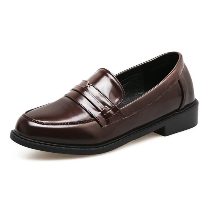 Leather Penny Loafer Comfort Casual Slip On Dress Shoes N4R6Y Taille-38 tbMhIUr