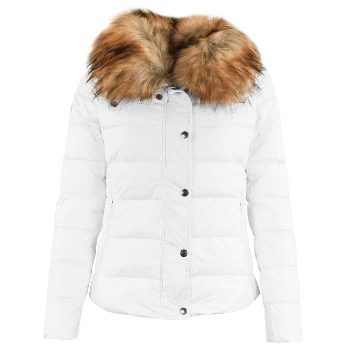 M D Inuit j Lady Blanc Femme Doudoune TT8Xrq