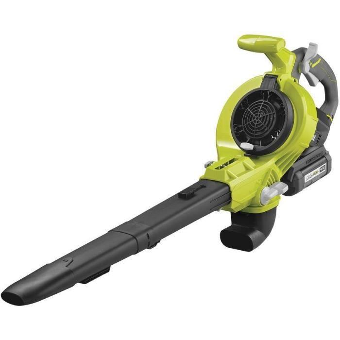ryobi rbv36b aspirateur de jardin souffleur de feuilles sans fil 36 v batterie non fournie 720. Black Bedroom Furniture Sets. Home Design Ideas