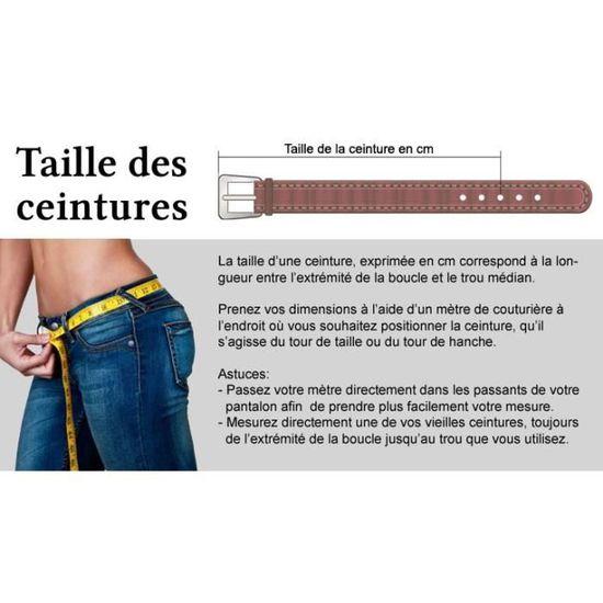 Ceinture cuir femme Claire Bower Bordeaux - Achat   Vente ceinture et  boucle - Cdiscount a9eb3f48bec