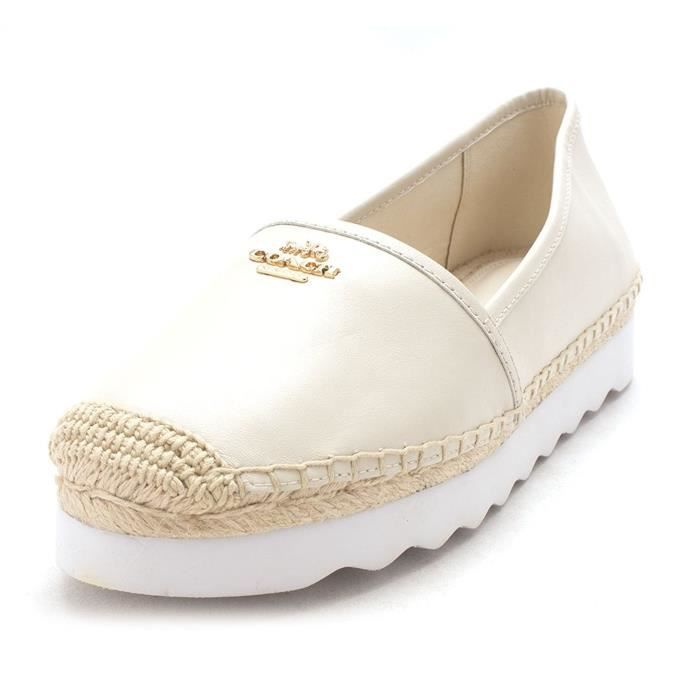Femmes Coach Rye Nappa Chaussures Plates