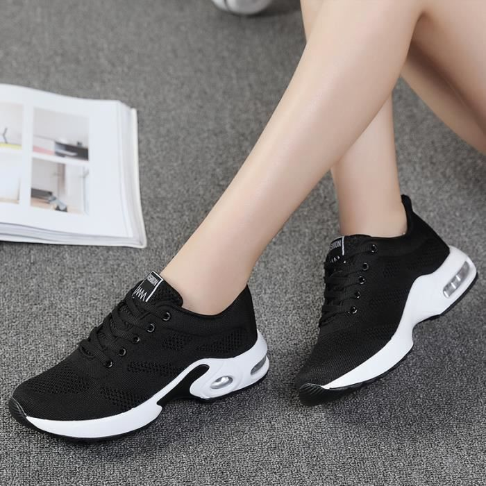 Lger Noir Poids Femme De Baskets Course Chaussures Respirant xgBCzPnwqA