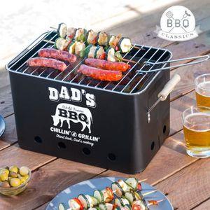 BARBECUE mini barbecue grill de table portable à charbon pi