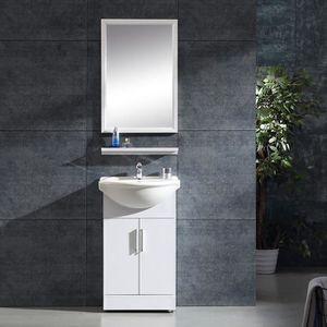 SALLE DE BAIN COMPLETE Ensemble de salle de bain avec meuble + vasque + r