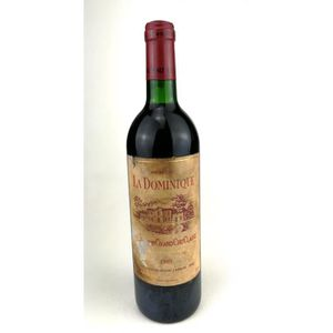 VIN ROUGE 1989 - Chateau La Dominique