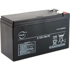 BATTERIE DOMOTIQUE NX - Batterie plomb AGM S 12V-7Ah FR 12V 7Ah T1…