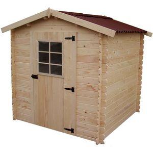 Abri de jardin en bois avec plancher - Achat / Vente Abri de ...