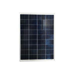 KIT PHOTOVOLTAIQUE Panneau Solaire 100W 12V Polycristallin-Ecowatt
