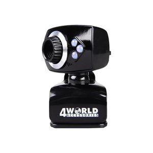 WEBCAM 4World Webcam couleur 2 MP 1600 x 1200 audio USB 2
