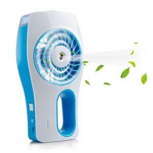 VENTILATEUR Mini Ventilateur Brumisateur à Main - Rechargeable