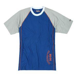 T-SHIRT Melange d'Amerique manches courtes T-shirt bleu gr