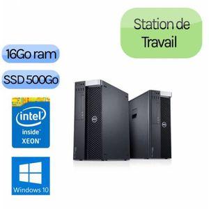 UNITÉ CENTRALE  Dell Precision T3600 - Windows 10 - E5-1607 16GB 5