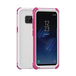 PROTECTION MONTRE CONN. Coque pour Samsung Galaxy S8 etui Dual-use de Prot