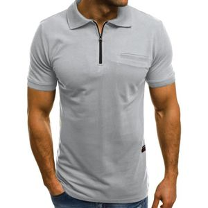 3e132230a081 T-SHIRT Casual Slim manches courtes hommes de personnalité