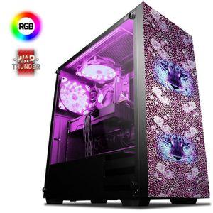 UNITÉ CENTRALE  VIBOX Kaleidos GS860-95 PC Gamer - AMD 8-Core, Gef